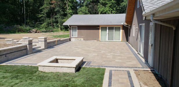 Brick Paving Contractor Hinsdale Patio