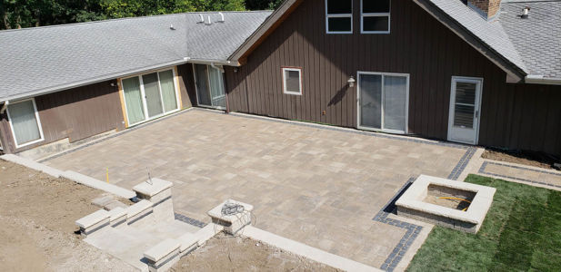 Brick Paving Contractor Hinsdale Great Patio