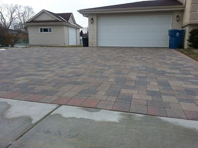 after euro paving driveway