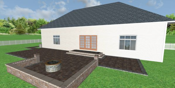 bartlet 3d design brickpaving