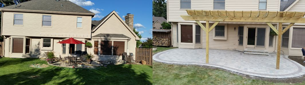 before after euro paving patio