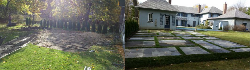 before after euro paving