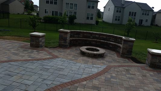 brick paving patio chicago