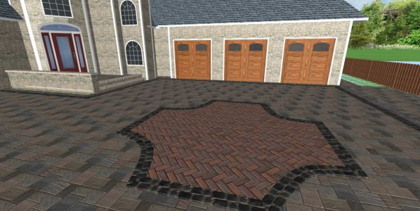 brick paving patio part 5