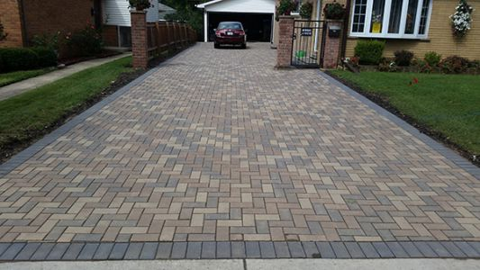 brick paving sidewalk barrington