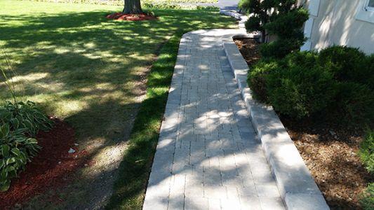 brick paving sidewalk chicago