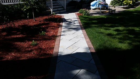 brick paving sidewalk