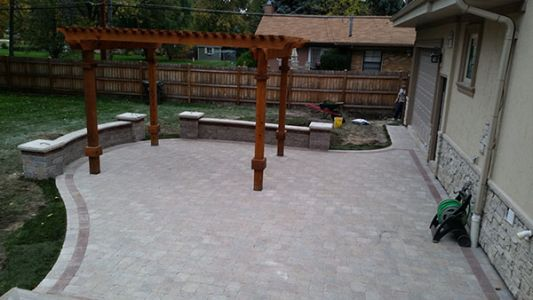 brick paving winnetka