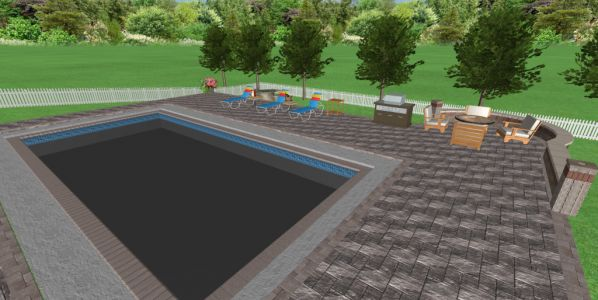 burridge patio pool paving