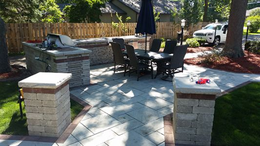 euro paving patio in chicago