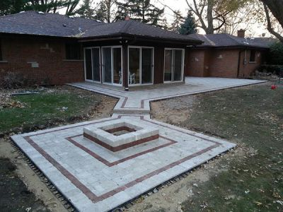 brick paving oak lawn