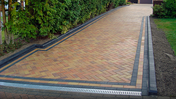 brick paving foundation
