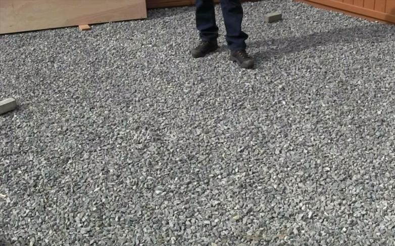 gravel base for brick paving