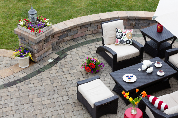 Great Brick Patio Design in Chicago Are