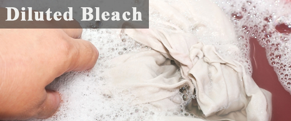 Diluted Bleach