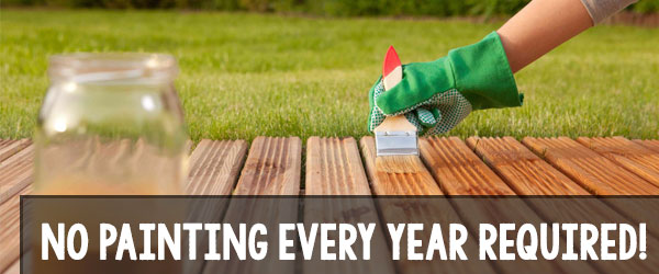 how often paint a wood deck