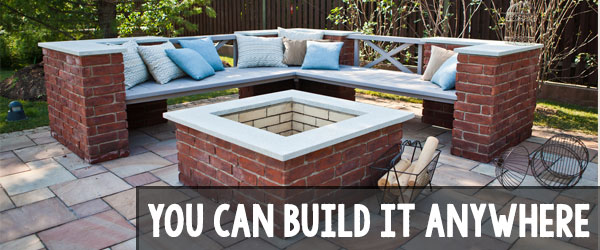 where to build your brick paving patio