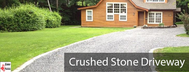 Crushed Stone Driveway