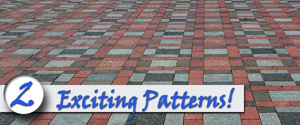 Brick sidewalks come in an array of exciting choices