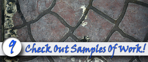 Check Out Samples Of Their Work