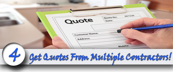 Get Quotes From Multiple Contractors