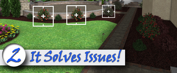 3D Design Figure Out How to Deal with Stubborn Lawn and Garden Issues