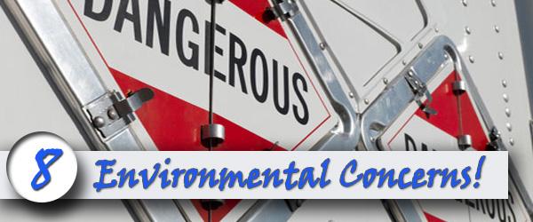 Asphalt has numerous environmental concerns