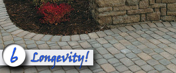 Brick driveways-have a reputation for longevity