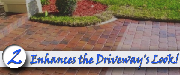 Enhances the Driveways Look