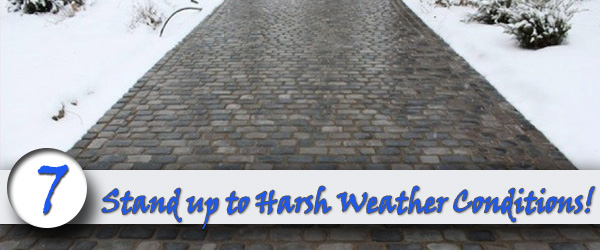 MakesYour Driveway Stand up to Harsh Weather Conditions
