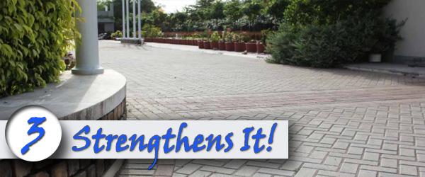 Sealing Your BrickDriveway Strengthens It
