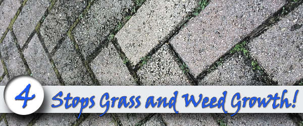 Stops Grass and Weed Growth