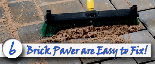 Brick Pavers are Easy to Fix