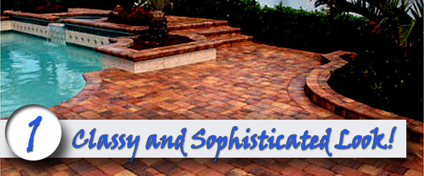 Bricks Around Your Swimming Pool Look Classy and Sophisticated